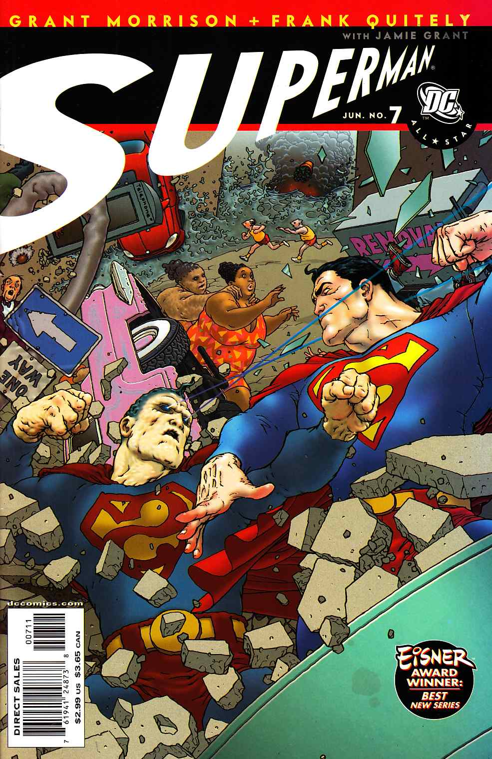 All Star Superman #7 Very Fine (8.0) [DC Comic] THUMBNAIL