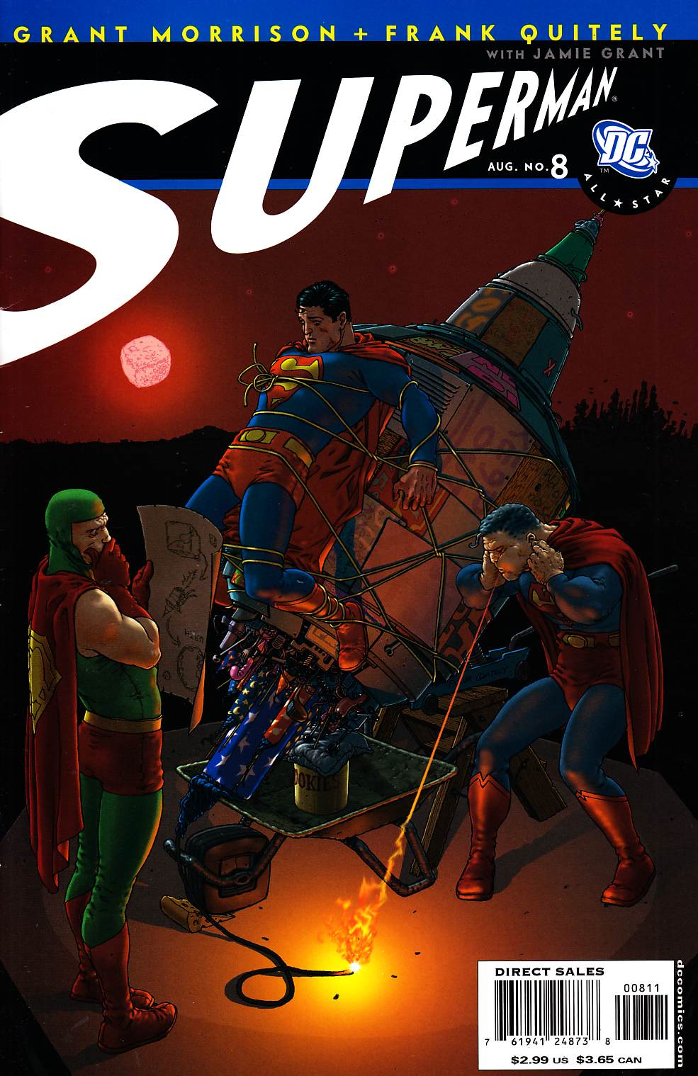 All Star Superman #8 Very Fine (8.0) [DC Comic]_THUMBNAIL