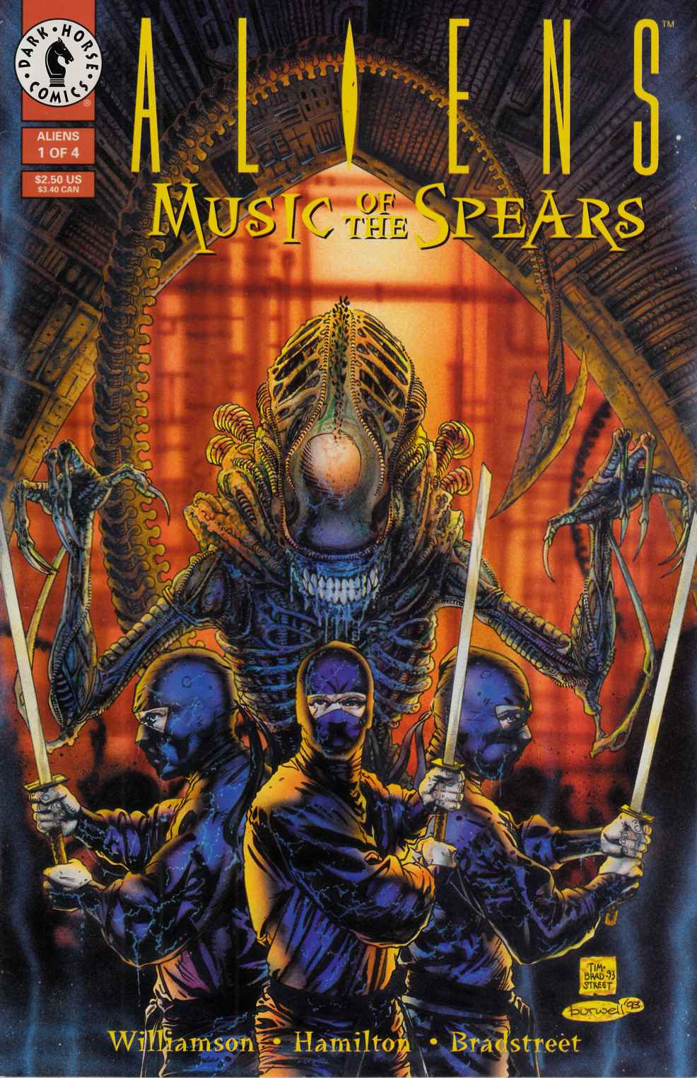 Aliens Music of the Spears #1 Near Mint Minus (9.2) [Dark Horse Comic] THUMBNAIL