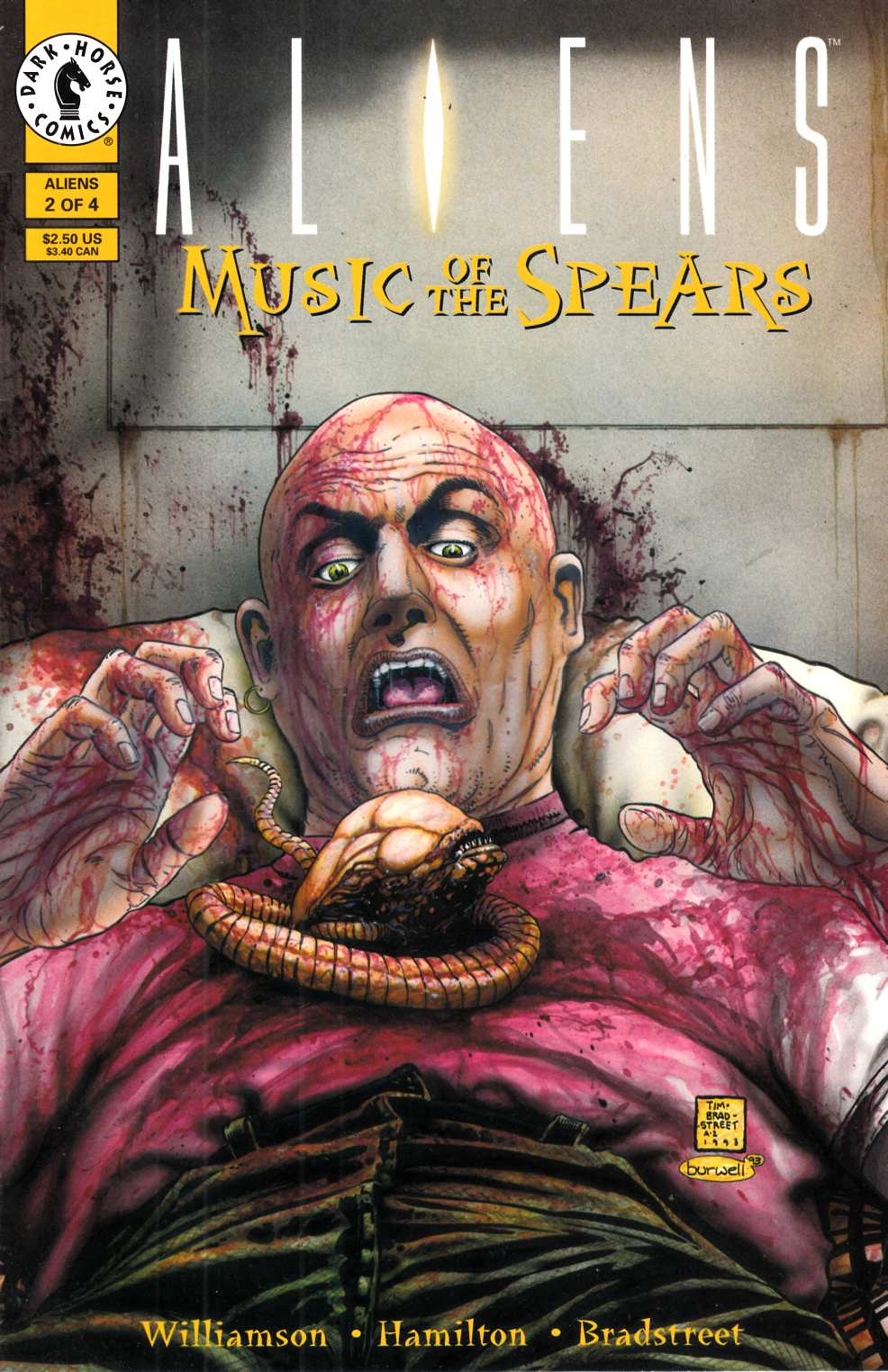 Aliens Music of the Spears #2 Very Fine (8.0) [Dark Horse Comic] THUMBNAIL
