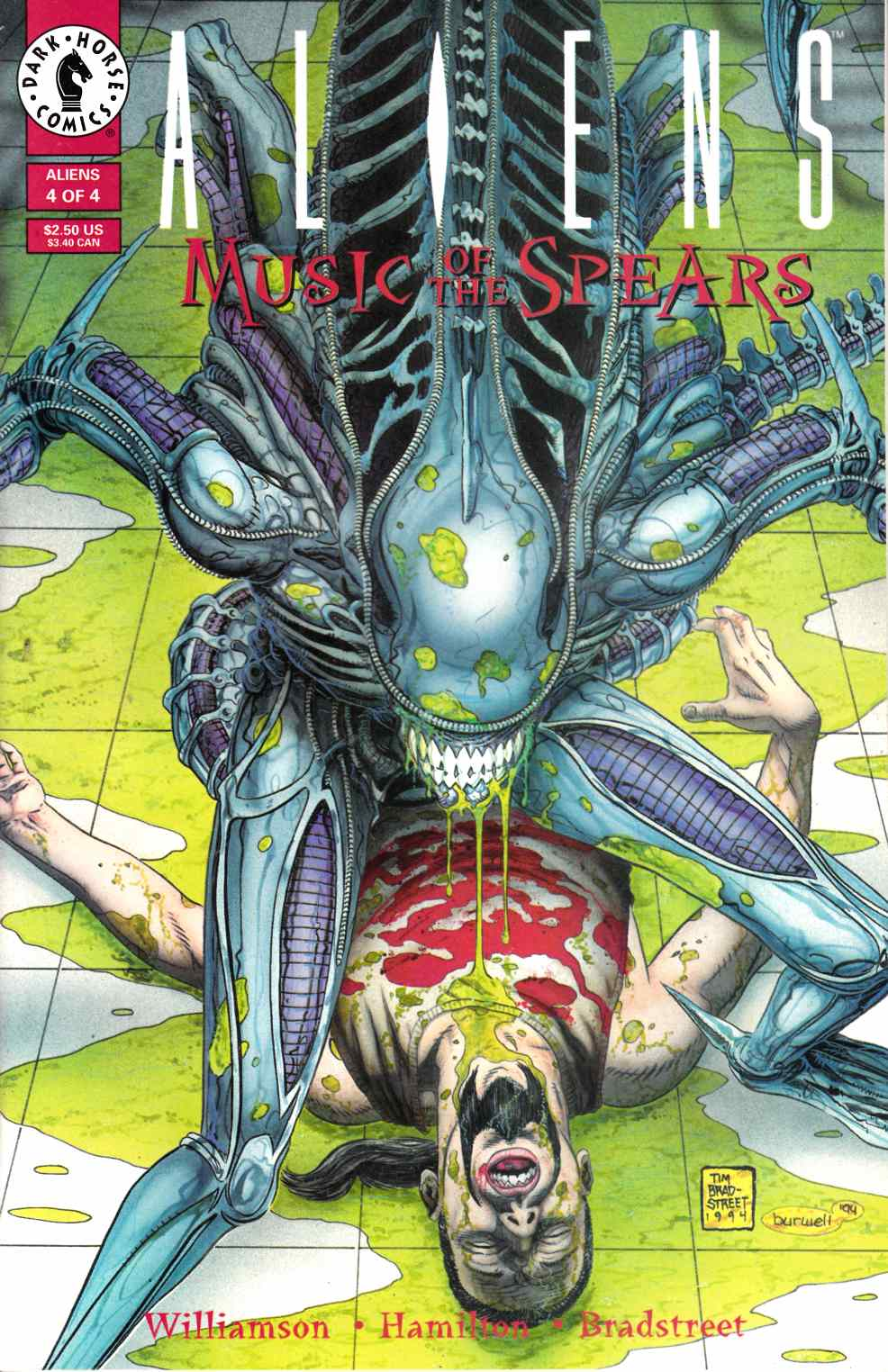 Aliens Music of the Spears #4 Near Mint (9.4) [Dark Horse Comic] THUMBNAIL