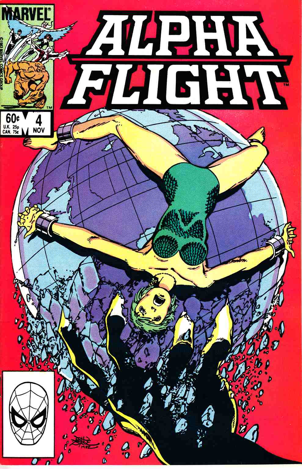 Alpha Flight #4 Near Mint (9.4) [Marvel Comic] THUMBNAIL