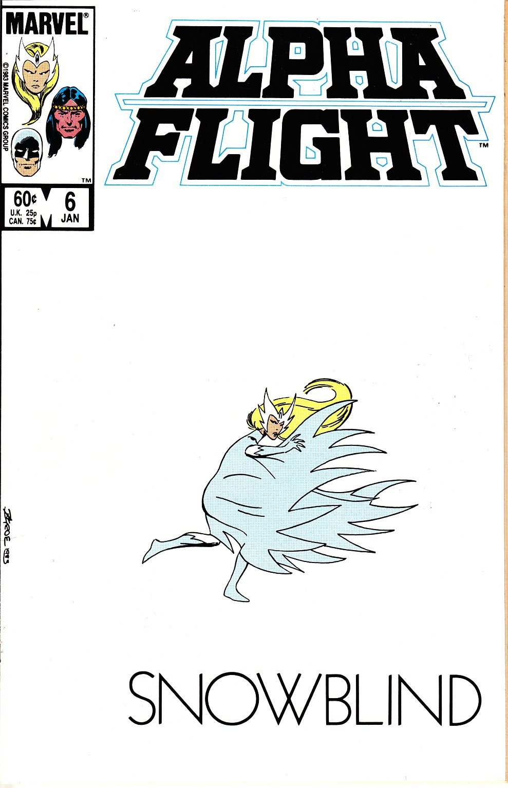 Alpha Flight #6 Near Mint (9.4) [Marvel Comic] THUMBNAIL