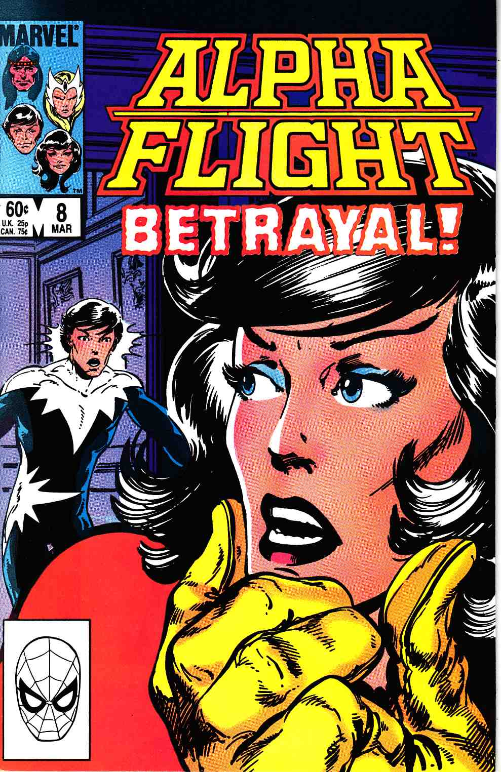 Alpha Flight #8 Near Mint (9.4) [Marvel Comic] THUMBNAIL