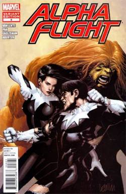 Alpha Flight #8 Yu Incentive Variant Cover [Comic] LARGE