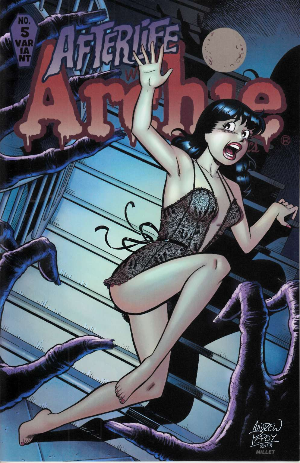 Afterlife with Archie #5 Pepoy Variant Cover Near Mint (9.4) [Archie Comic] THUMBNAIL
