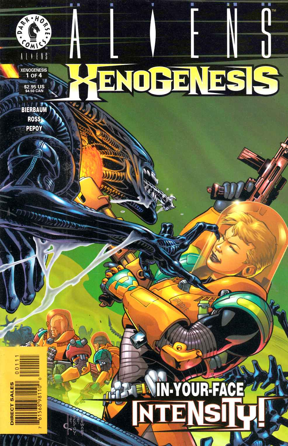 Aliens Xenogenesis #1 Near Mint (9.4) [Dark Horse Comic] THUMBNAIL