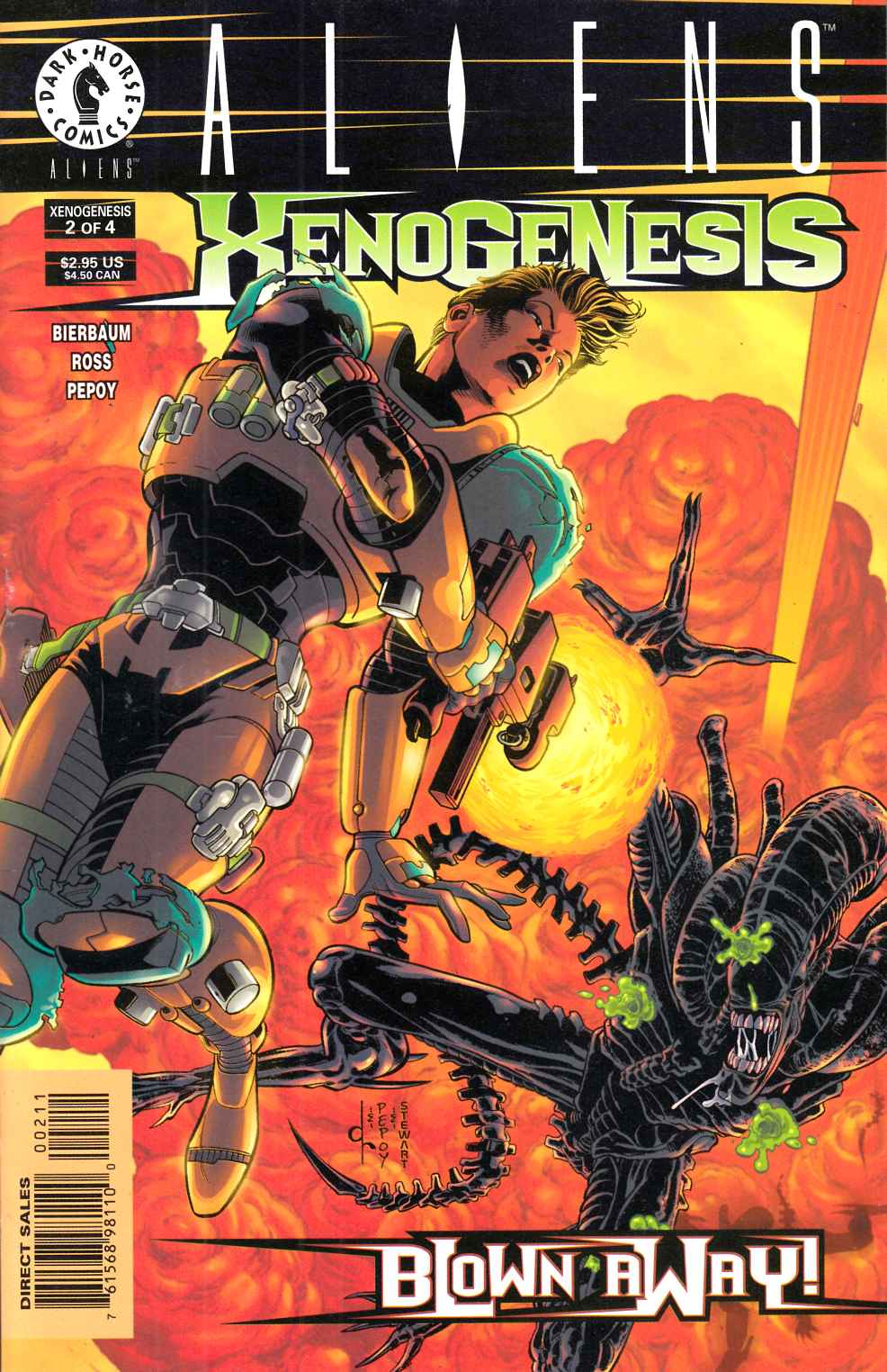 Aliens Xenogenesis #2 Near Mint (9.4) [Dark Horse Comic] THUMBNAIL