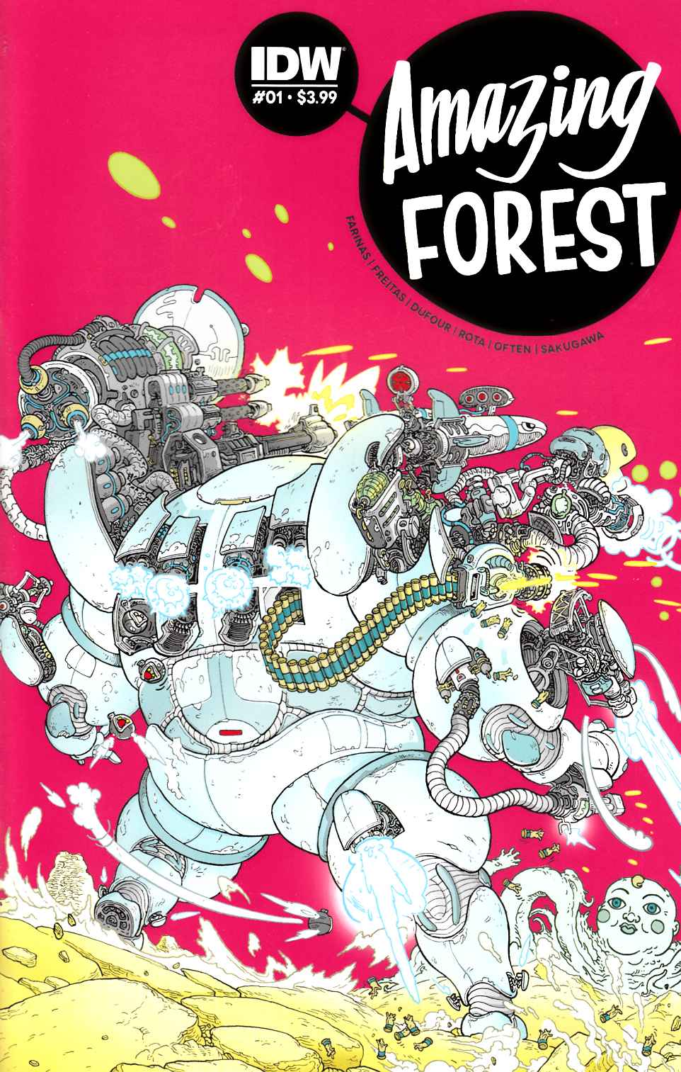 Amazing Forest #1 [IDW Comic]