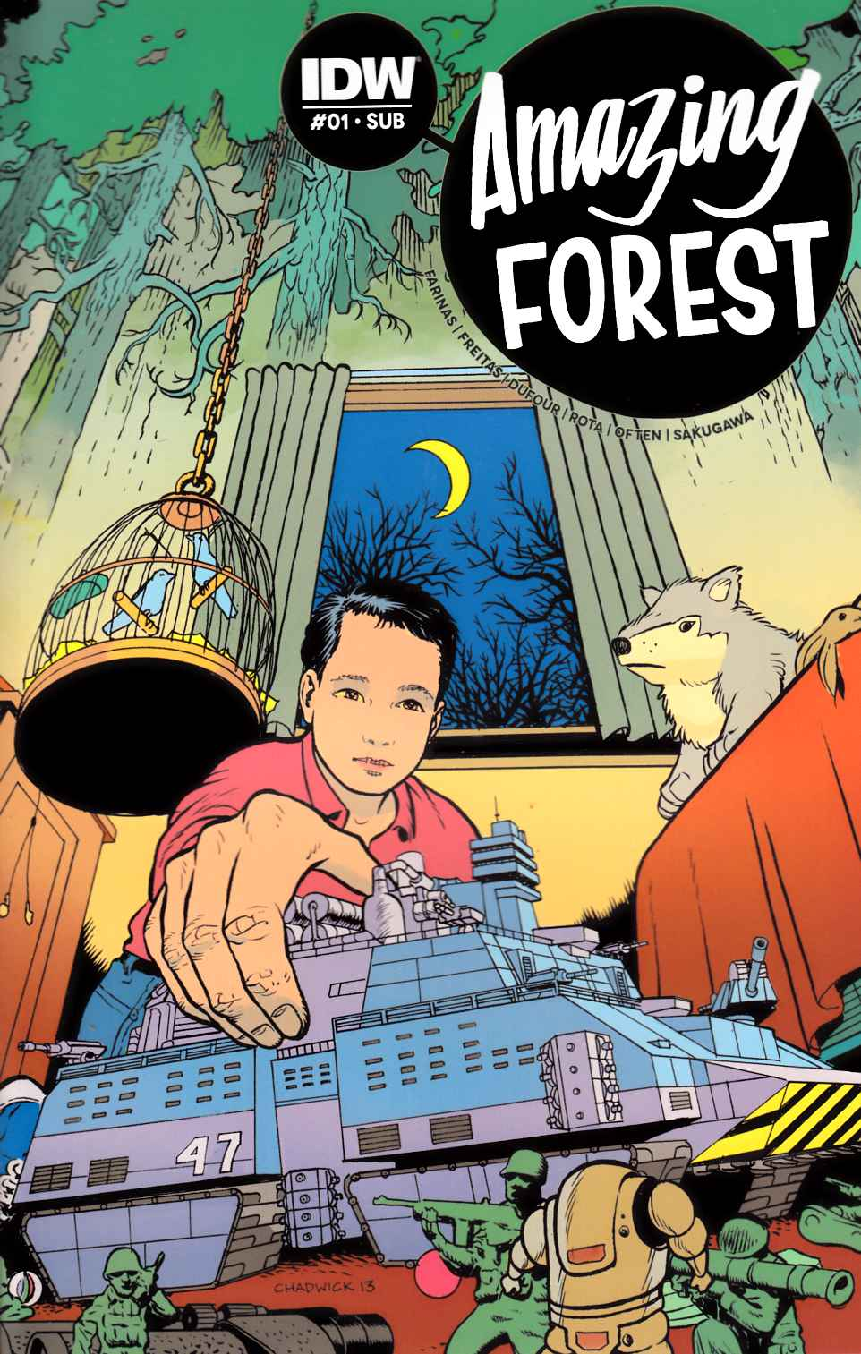 Amazing Forest #1 Subscription Variant [IDW Comic]