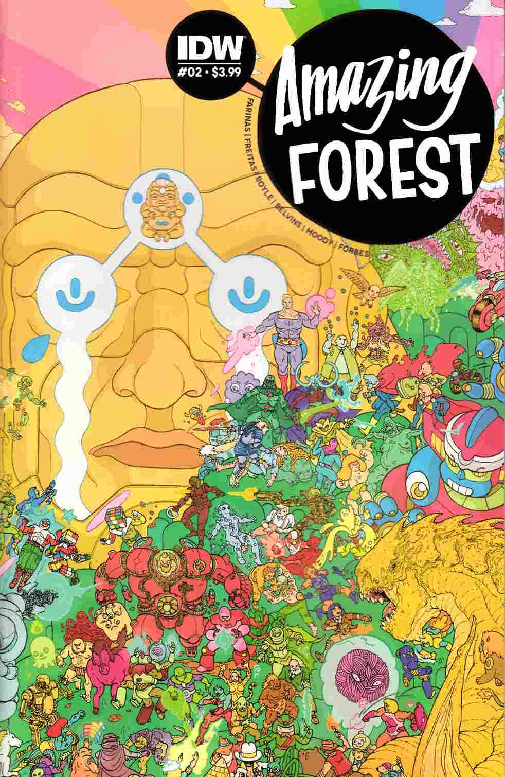 Amazing Forest #2 [IDW Comic]
