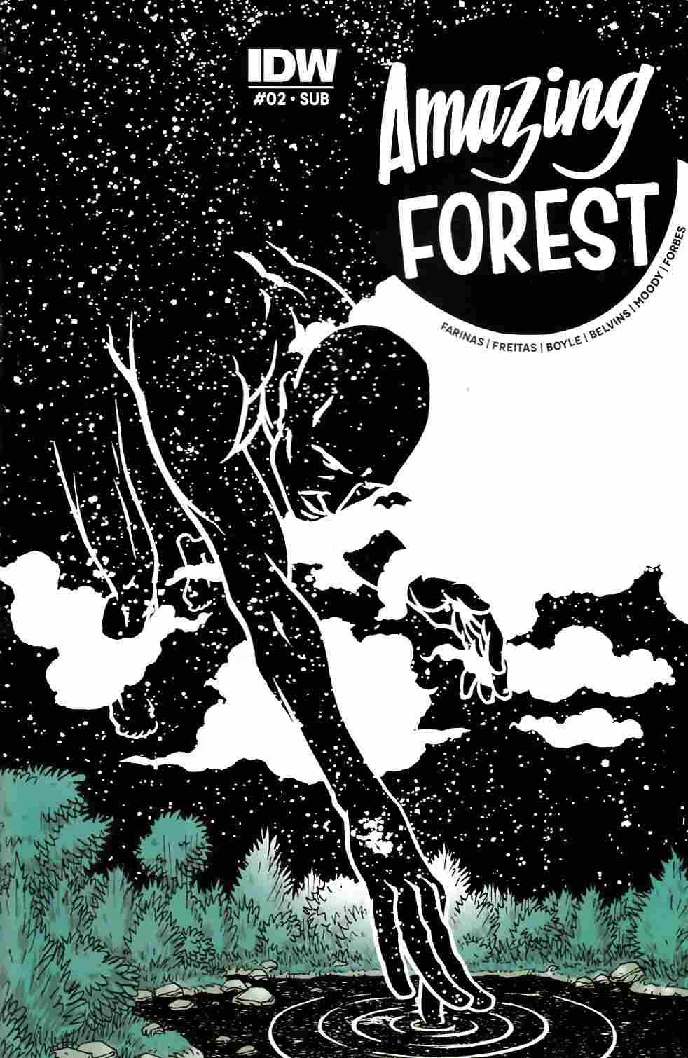 Amazing Forest #2 Subscription Cover [IDW Comic]