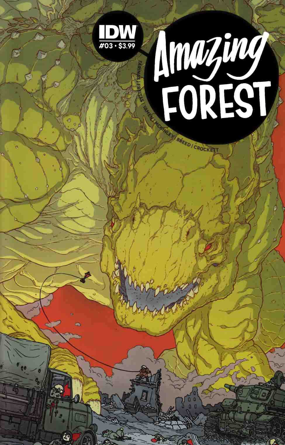 Amazing Forest #3 [IDW Comic]