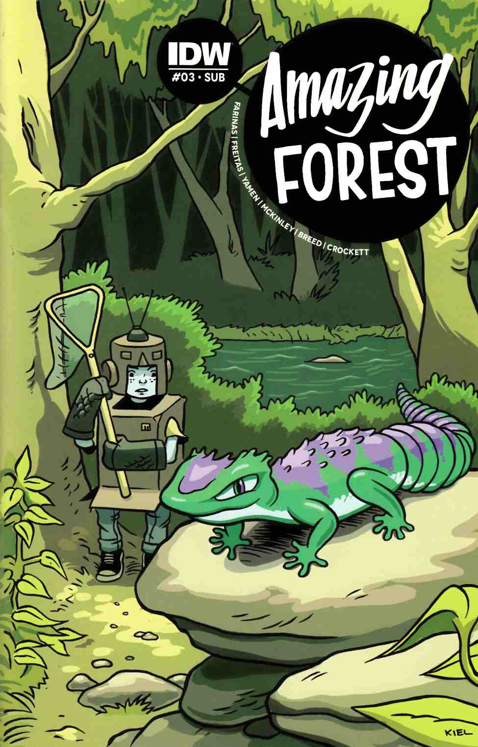 Amazing Forest #3 Subscription Cover [IDW Comic]