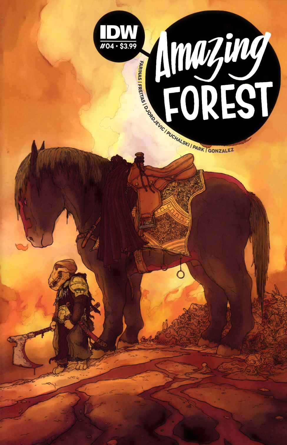 Amazing Forest #4 [IDW Comic]