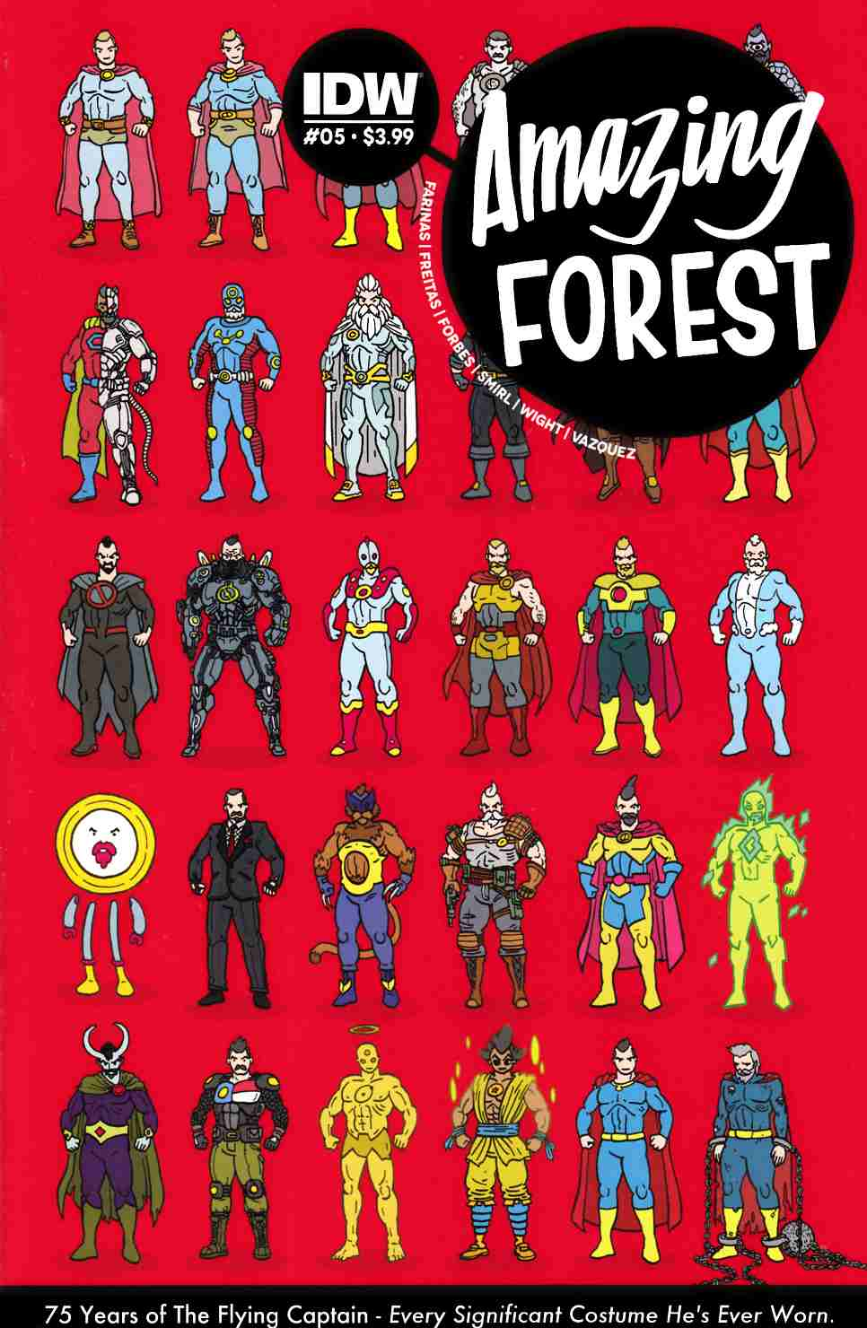 Amazing Forest #5 [IDW Comic]