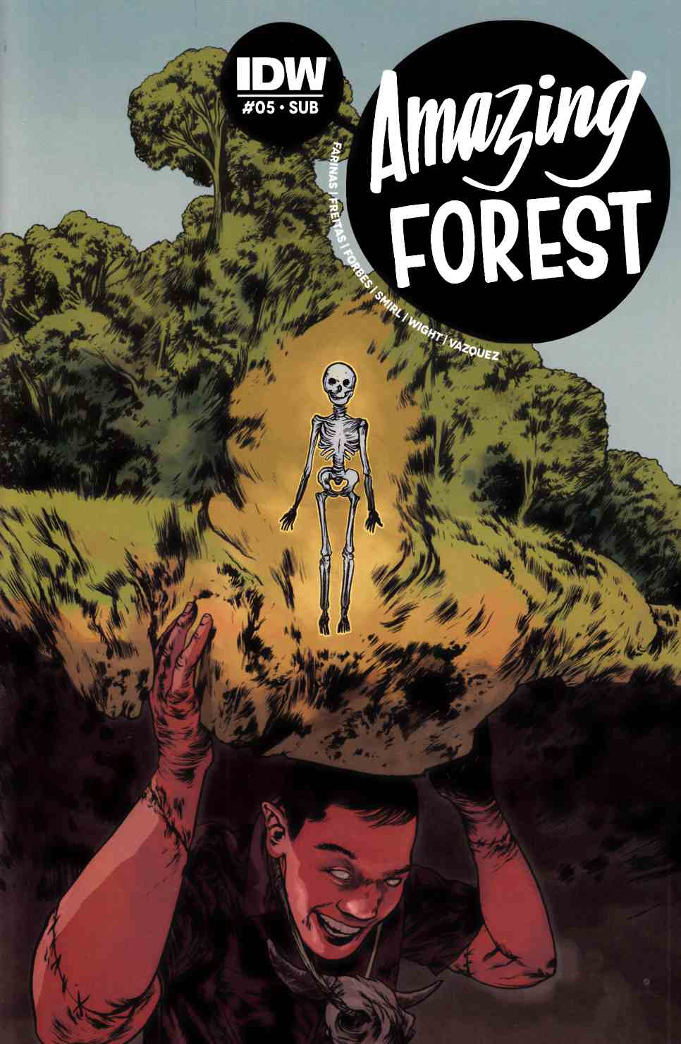 Amazing Forest #5 Subscription Cover [IDW Comic]