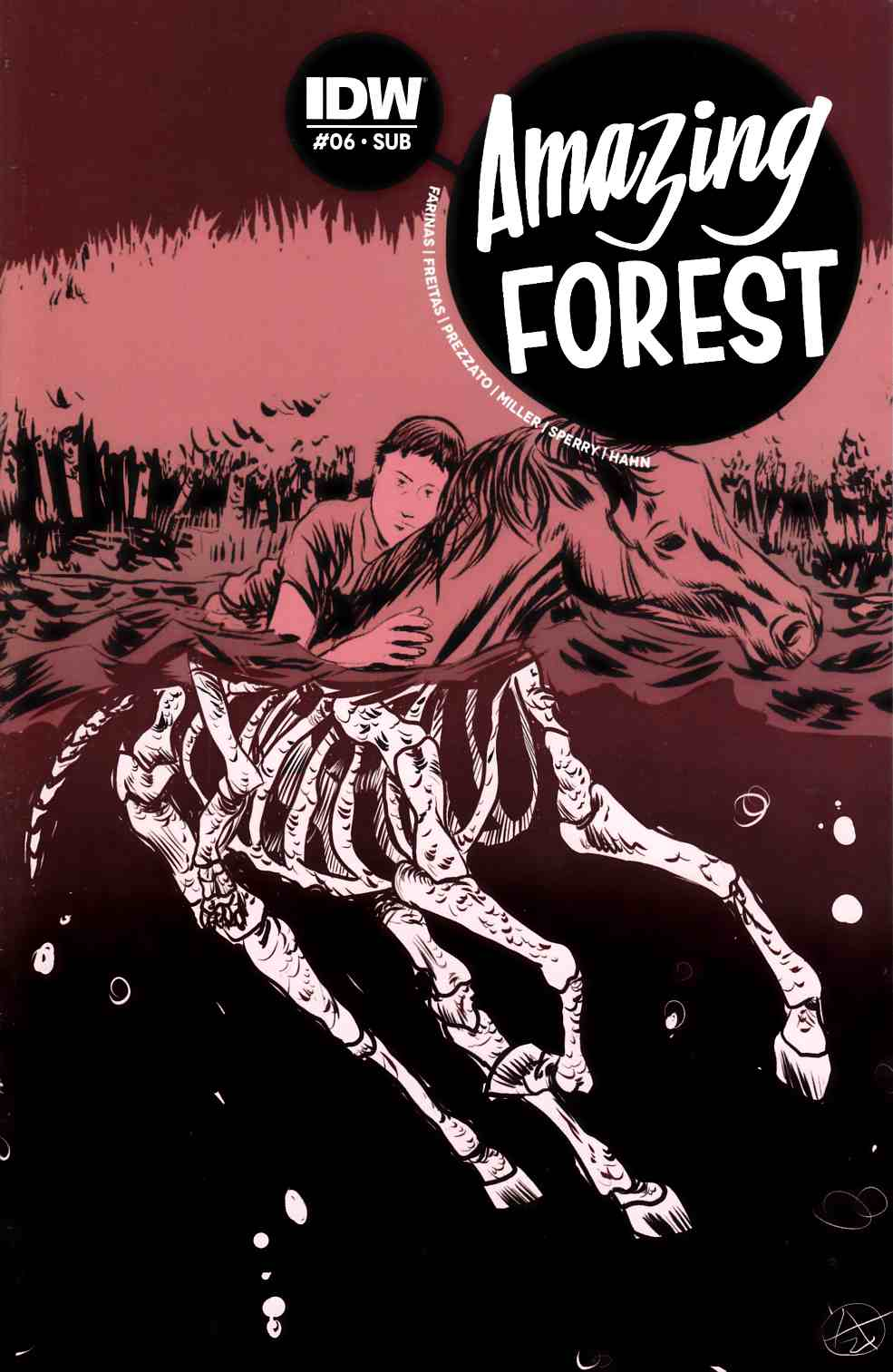 Amazing Forest #6 Subscription Cover [IDW Comic]