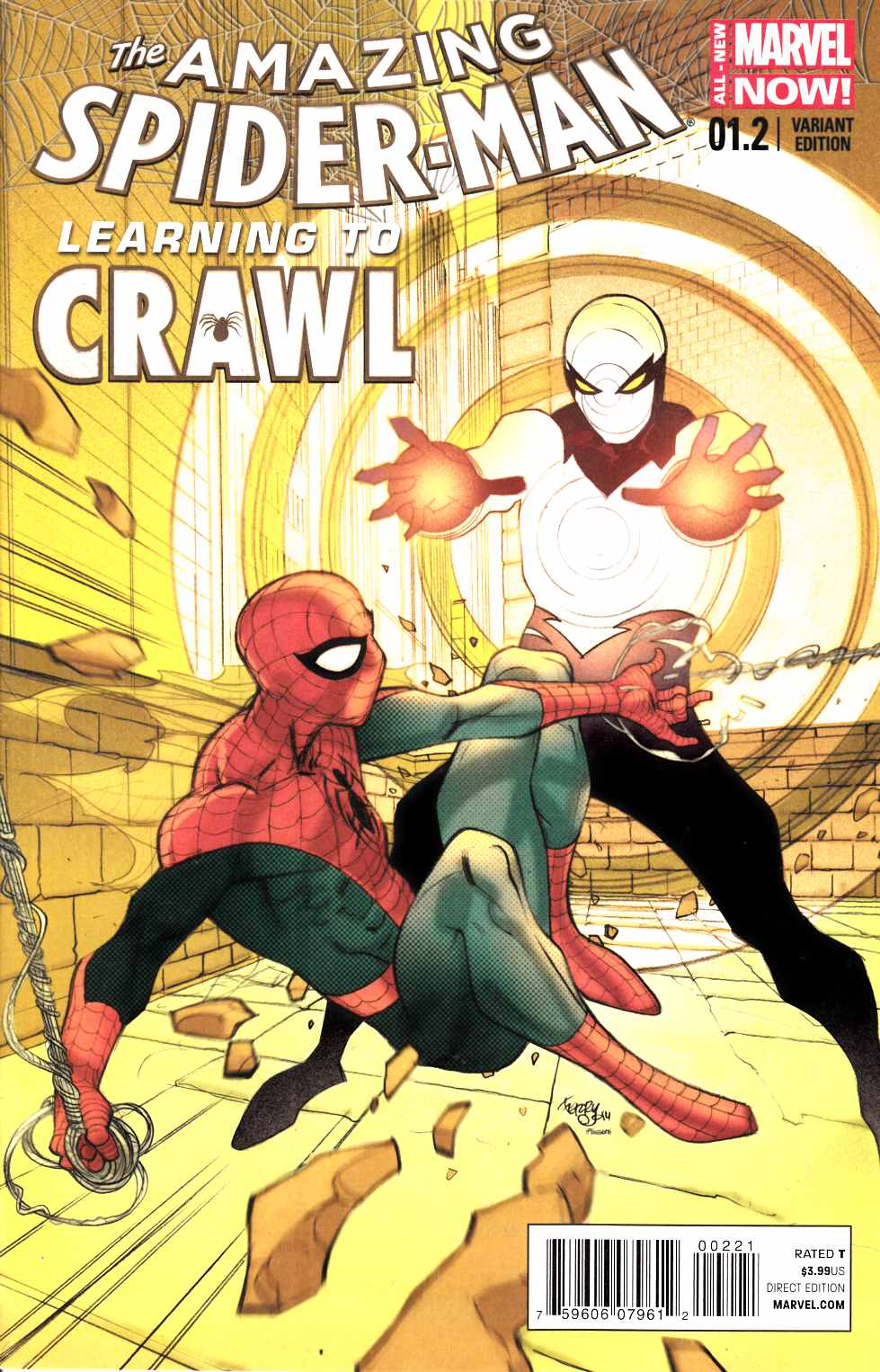 Amazing Spider-Man #1.2 Pasqual Ferry Variant Cover [Comic] THUMBNAIL