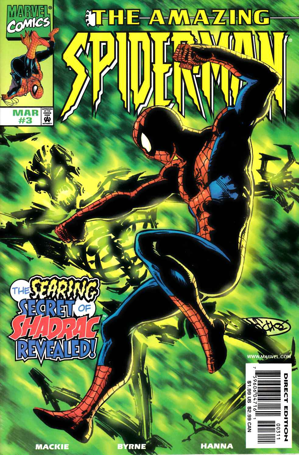 Amazing Spider-Man #3 Very Fine (8.0) [Marvel Comic] THUMBNAIL