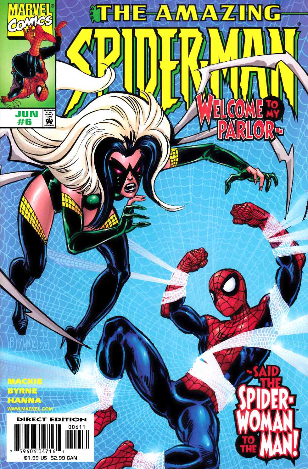 Amazing Spider-Man #6 Near Mint Minus (9.2) [Marvel Comic] LARGE