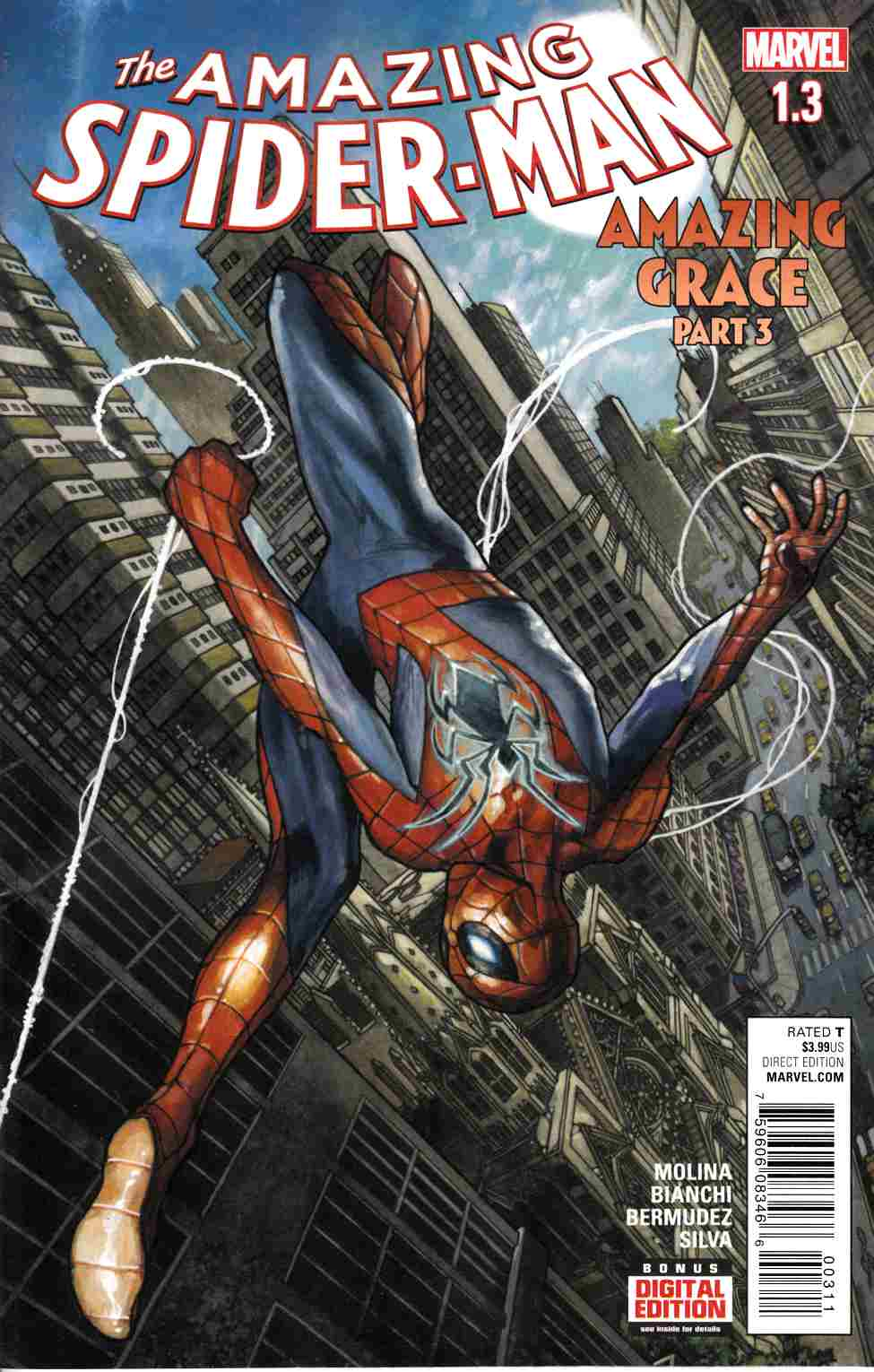 Amazing Spider-Man #1.3 [Marvel Comic] THUMBNAIL