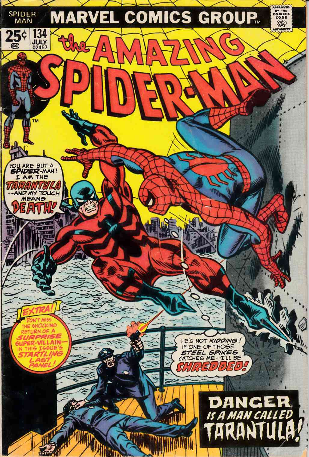 Amazing Spider-Man #134 Poor (0.5) [Marvel Comic]
