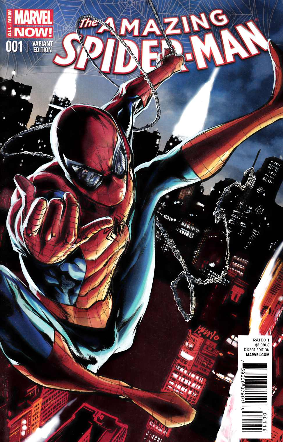 Amazing Spider-Man #1 Mhan Variant Cover [Comic] THUMBNAIL