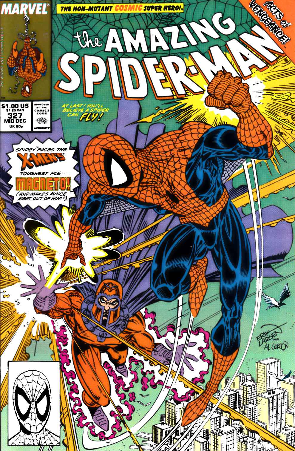 Amazing Spider-Man #327 Near Mint (9.4) [Marvel Comic] THUMBNAIL