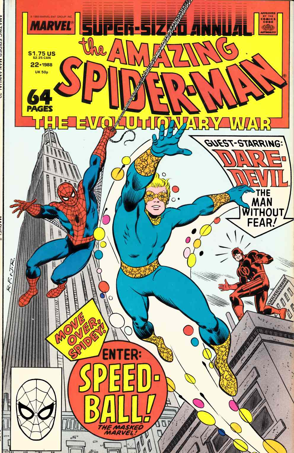 Amazing Spider-Man Annual #22 Very Fine (8.0) [Marvel Comic] THUMBNAIL