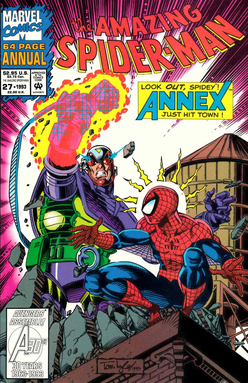 Amazing Spider-Man Annual #27 Unbagged Very Fine (8.0) [Marvel Comic]