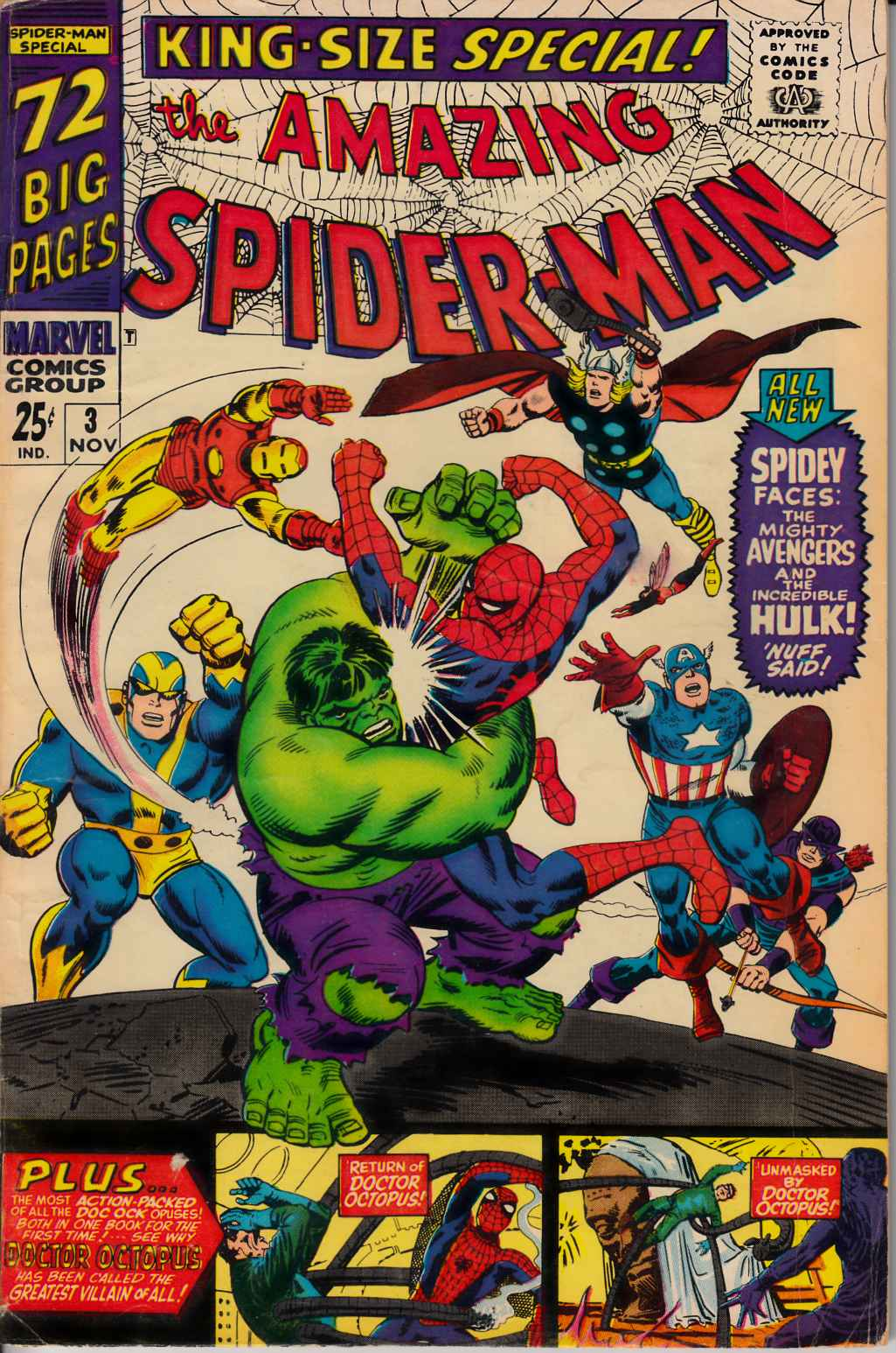 Amazing Spider-Man Annual #3 Very Good (4.0) [Marvel Comic] THUMBNAIL