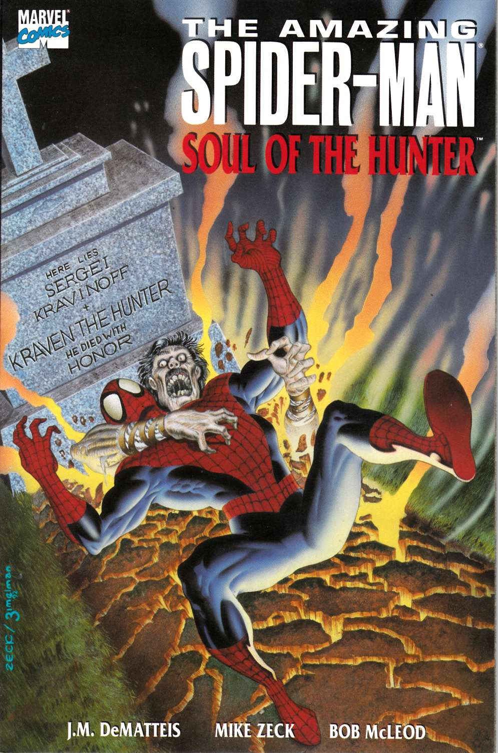 Amazing Spider-Man Soul of the Hunter (One Shot) Near Mint (9.4) [Marvel Comic]