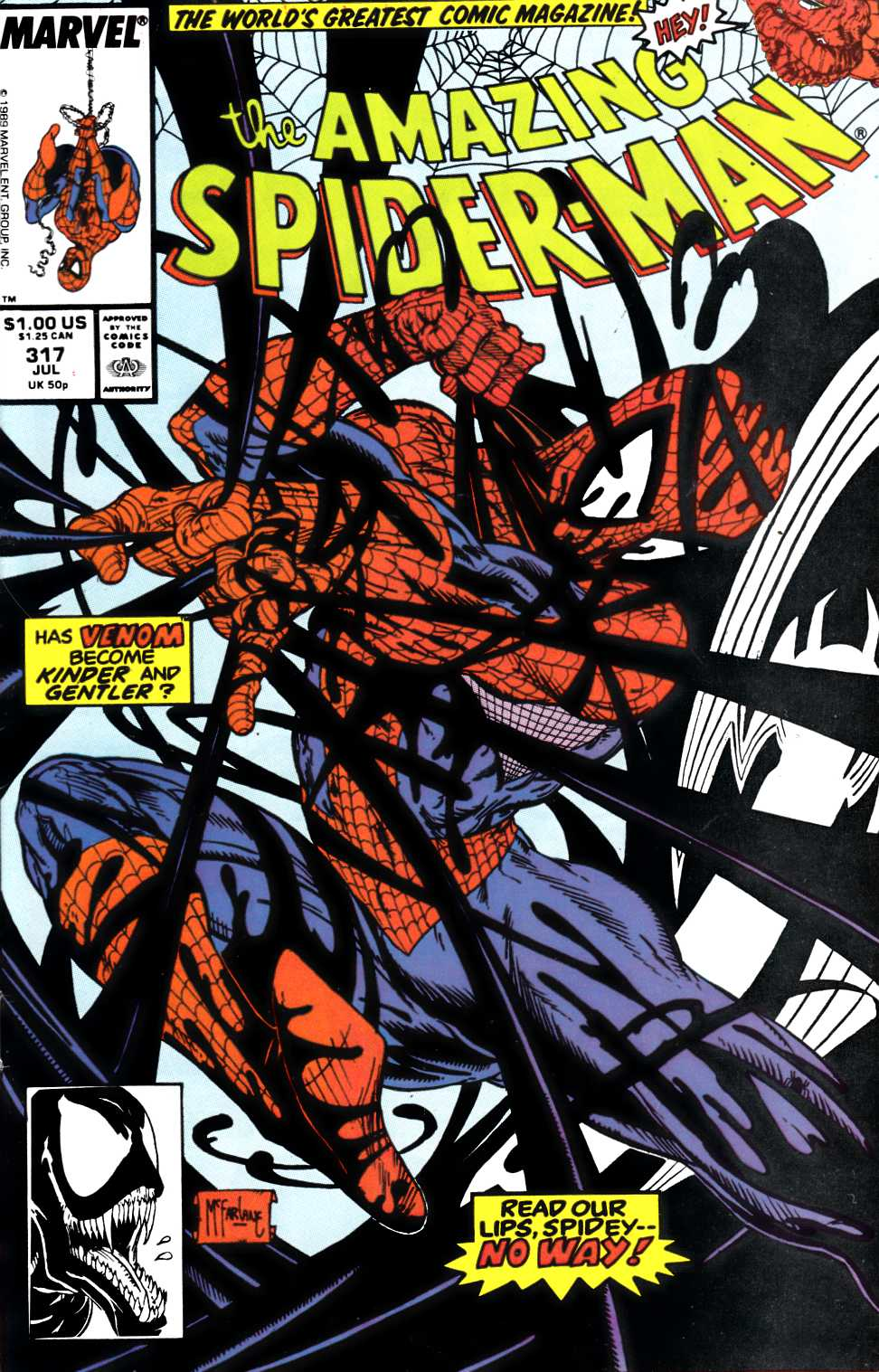 Amazing Spider-Man #317 Very Fine (8.0) [Marvel Comic] LARGE
