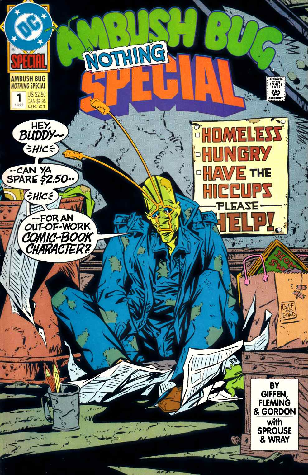 Ambush Bug Nothing Special #1 Very Fine Plus (8.5) [DC Comic] THUMBNAIL