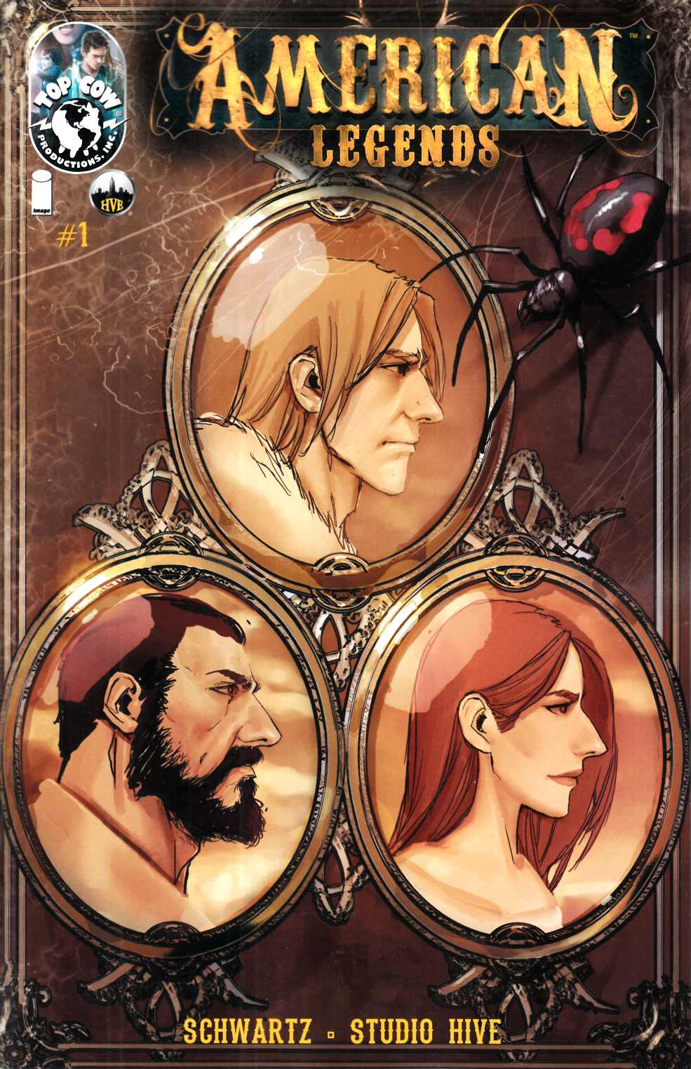 American Legends #1 Sejic Incentive Cover-A [Image Comic] THUMBNAIL