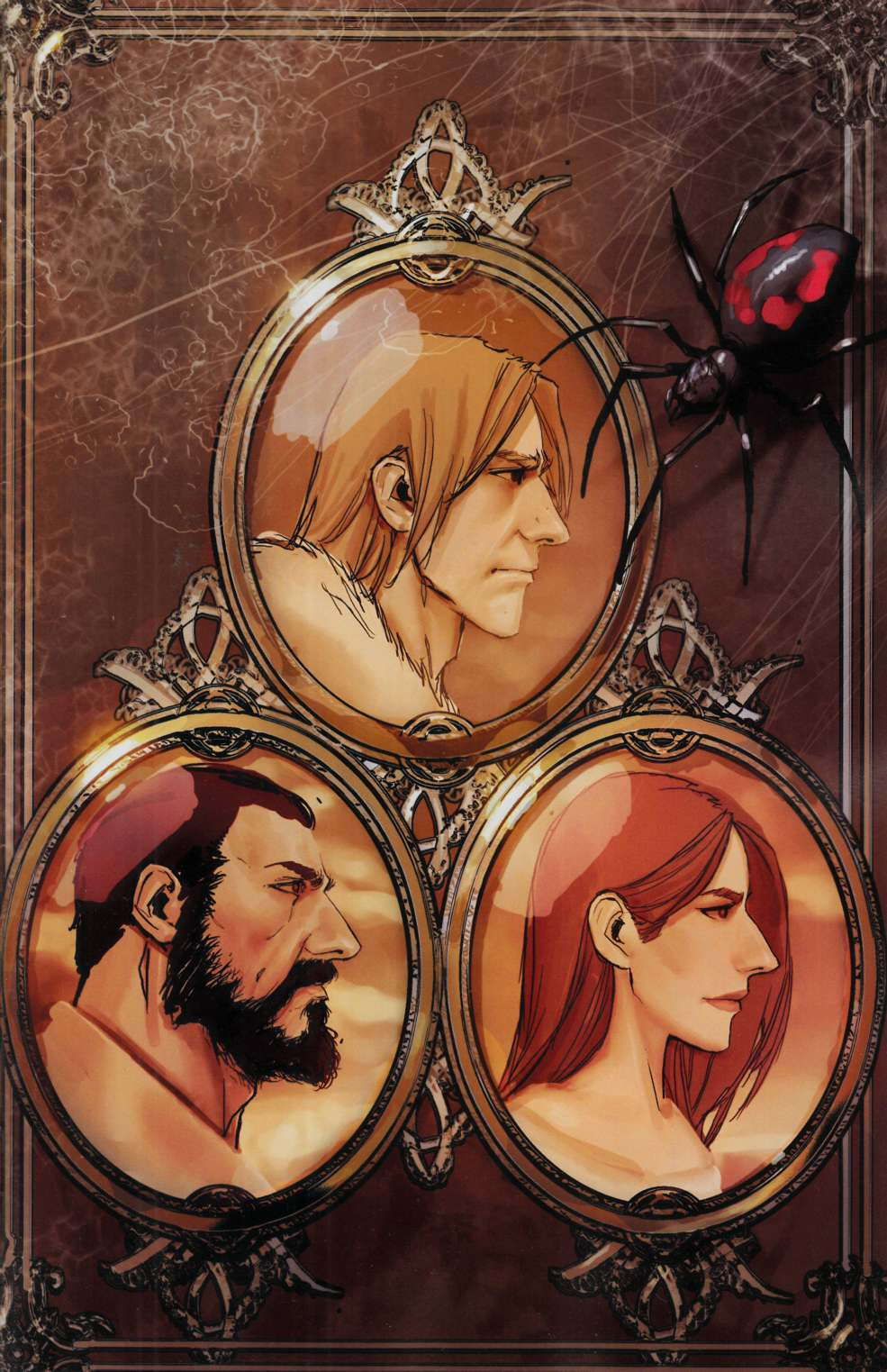 American Legends #1 Sejic Incentive Cover-B [Image Comic] THUMBNAIL