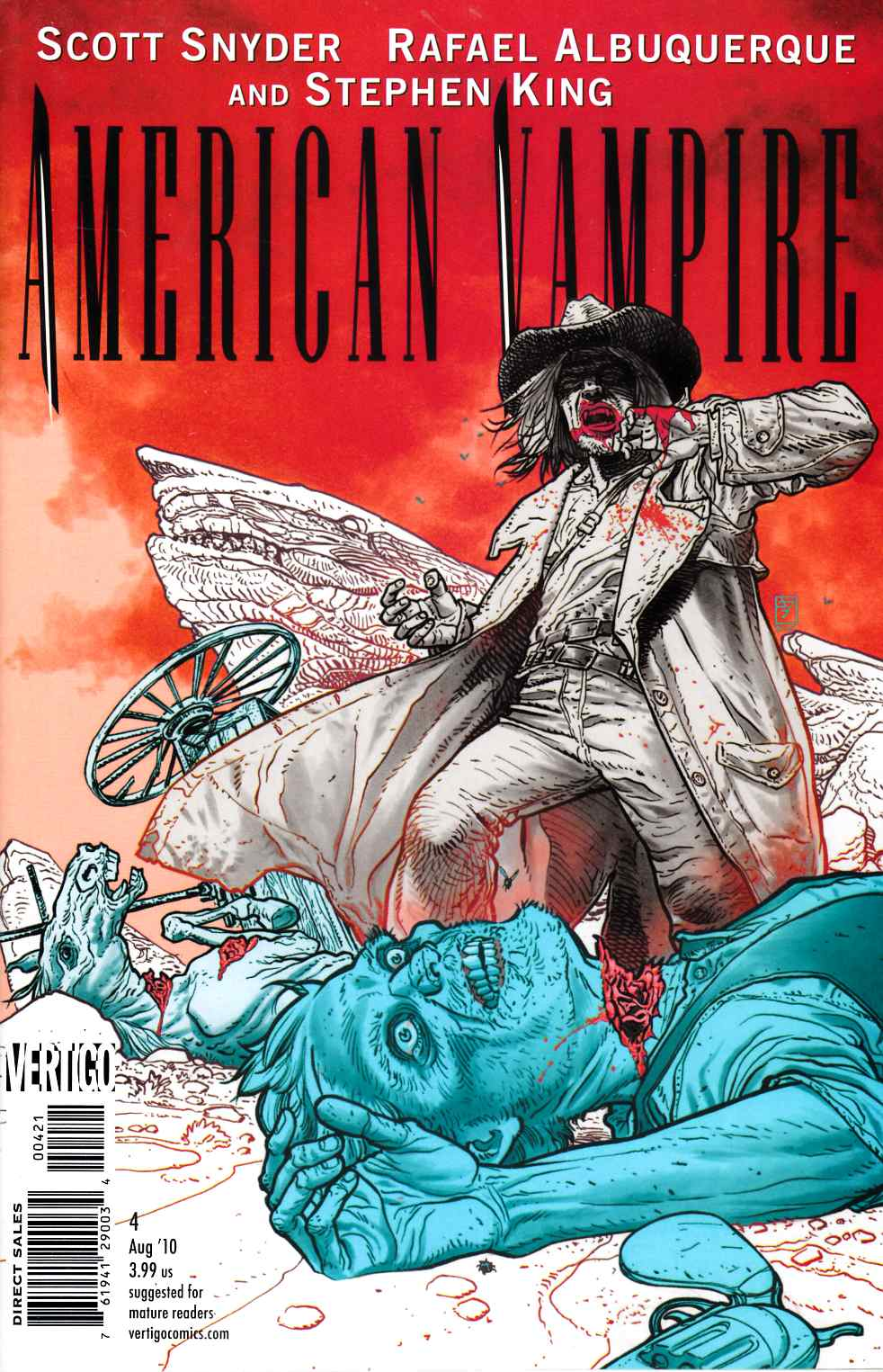 American Vampire #4 Williams Variant Cover [Comic]_THUMBNAIL