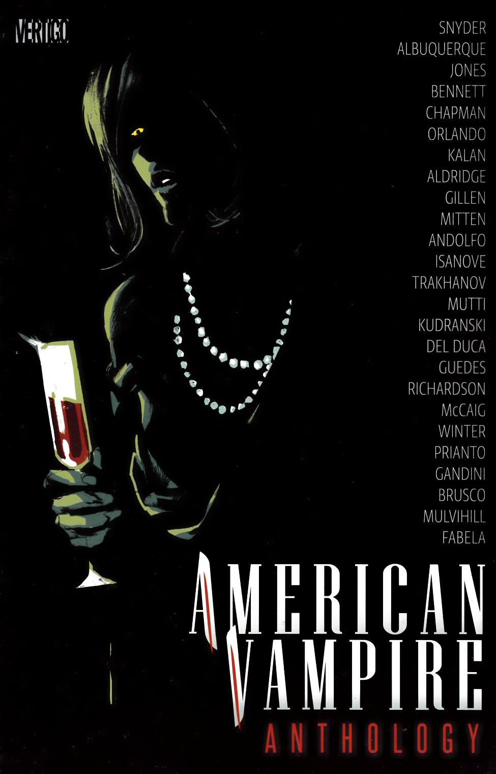 American Vampire Anthology #2 [DC Comic] LARGE