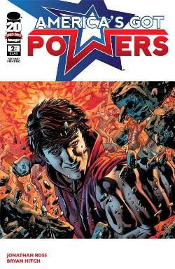 Americas Got Powers #2 Second (2nd) Printing [Comic]_LARGE