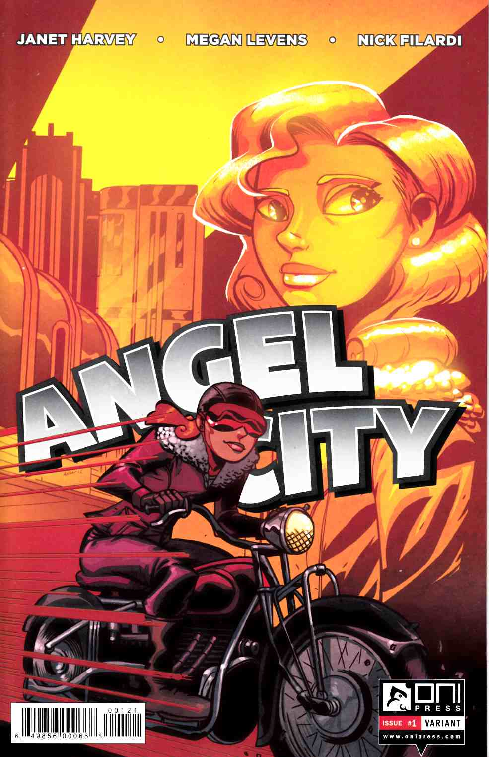 Angel City #1 Oeming Variant Cover [Oni Press Comic]