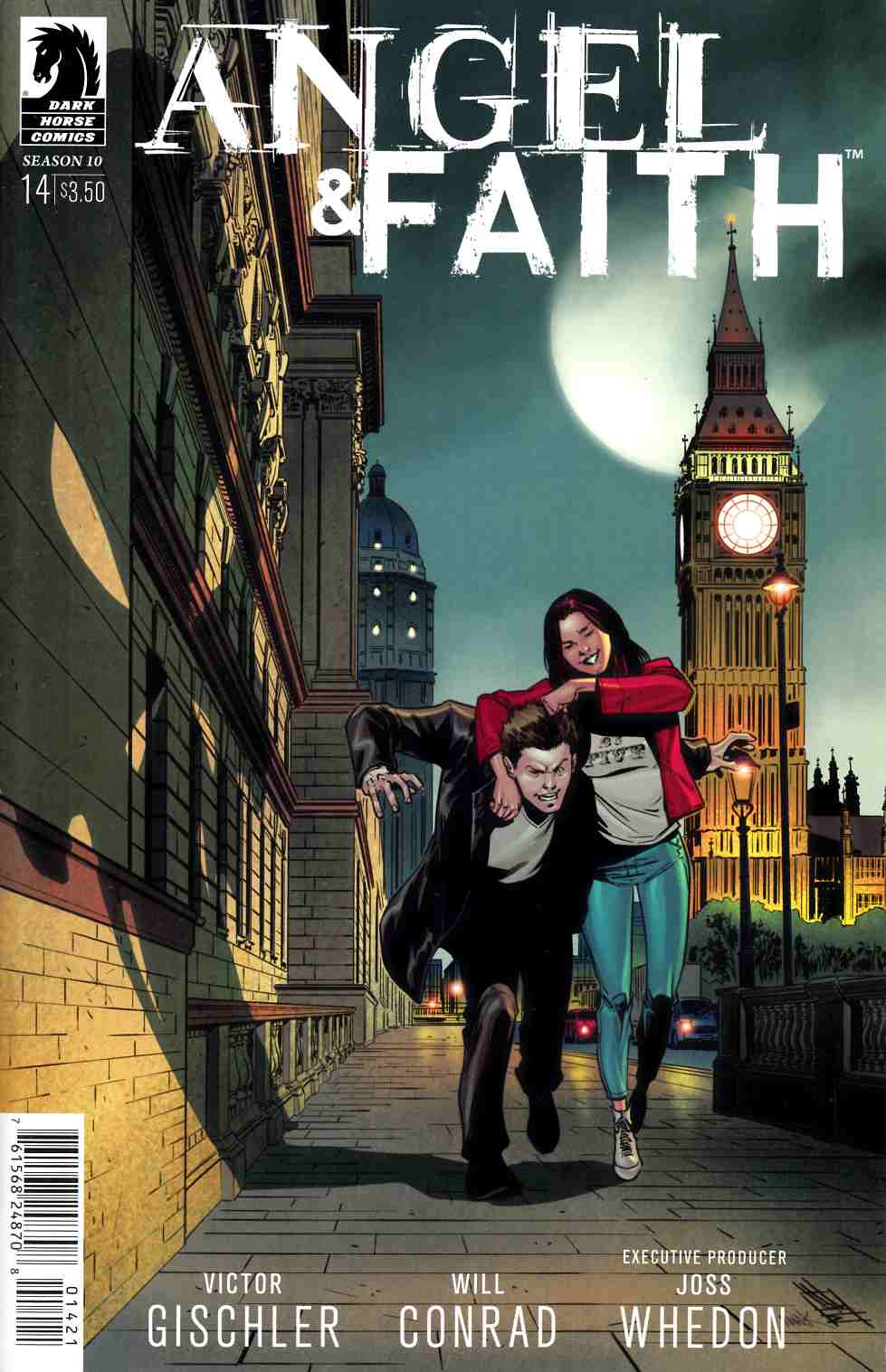 Angel and Faith Season 10 #14 Norton & Englert Variant Cover [Dark Horse Comic] THUMBNAIL