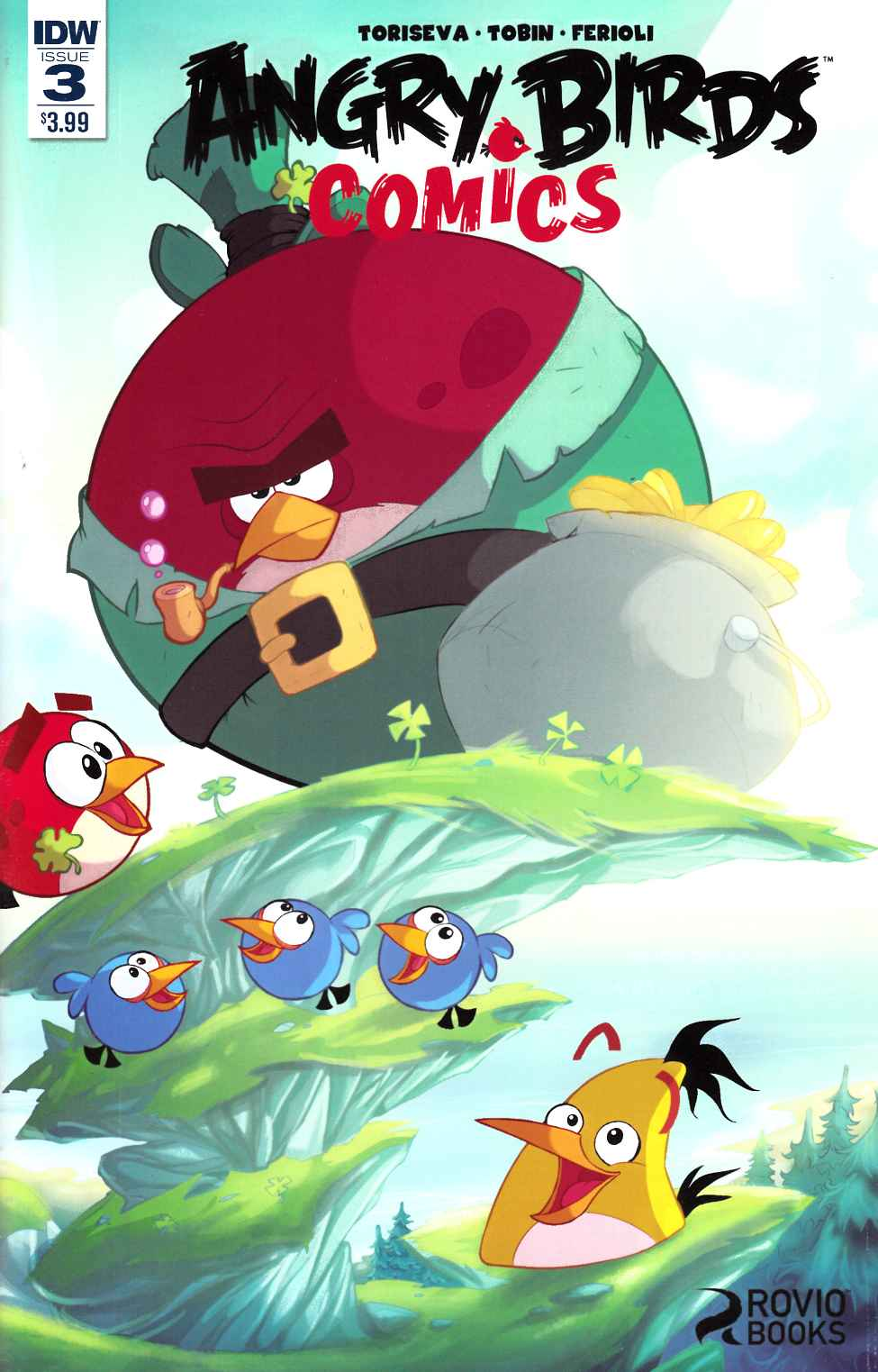 Angry Birds Comics (2016) #3 [IDW Comic]