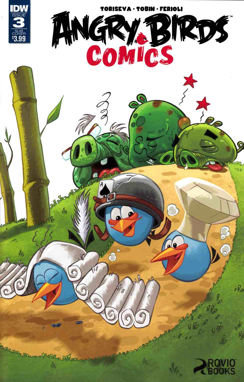 Angry Birds Comics (2016) #3 Subscription Cover [IDW Comic]