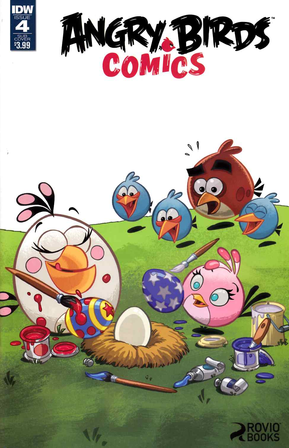 Angry Birds Comics #4 Subscription Cover [IDW Comic]
