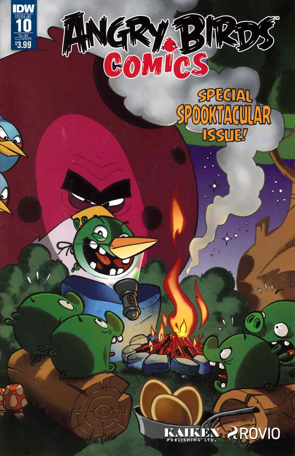 Angry Birds Comics (2016) #10 Subscription Cover [IDW Comic]