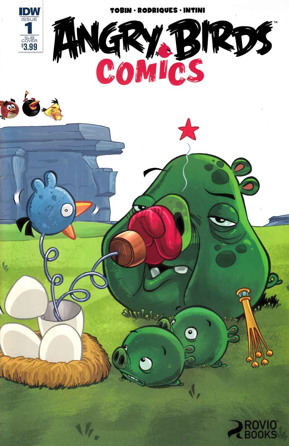 Angry Birds Comics (2016) #1 Subscription Cover [IDW Comic]