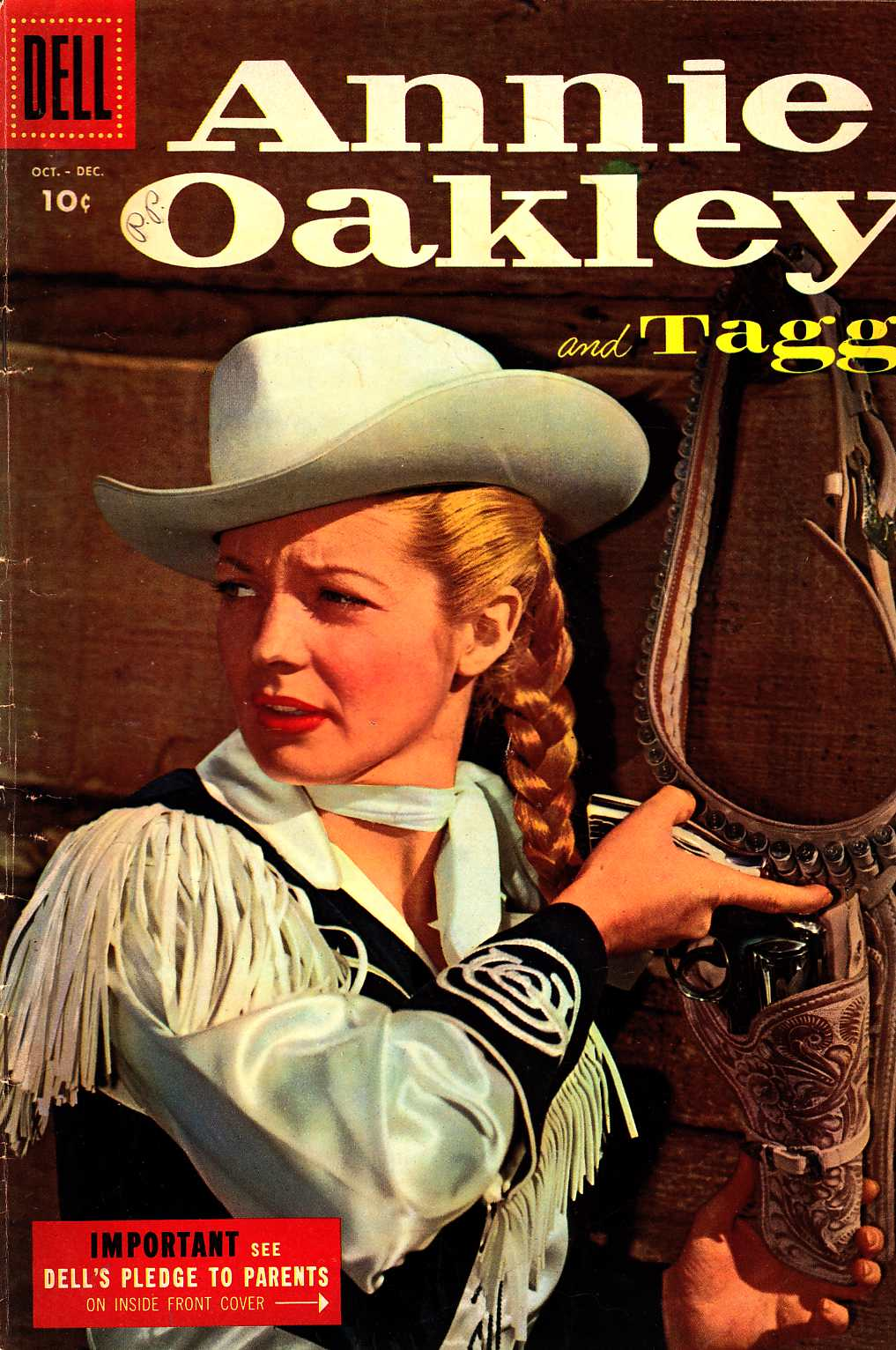 Annie Oakley And Tagg #5 [Dell Comic] LARGE