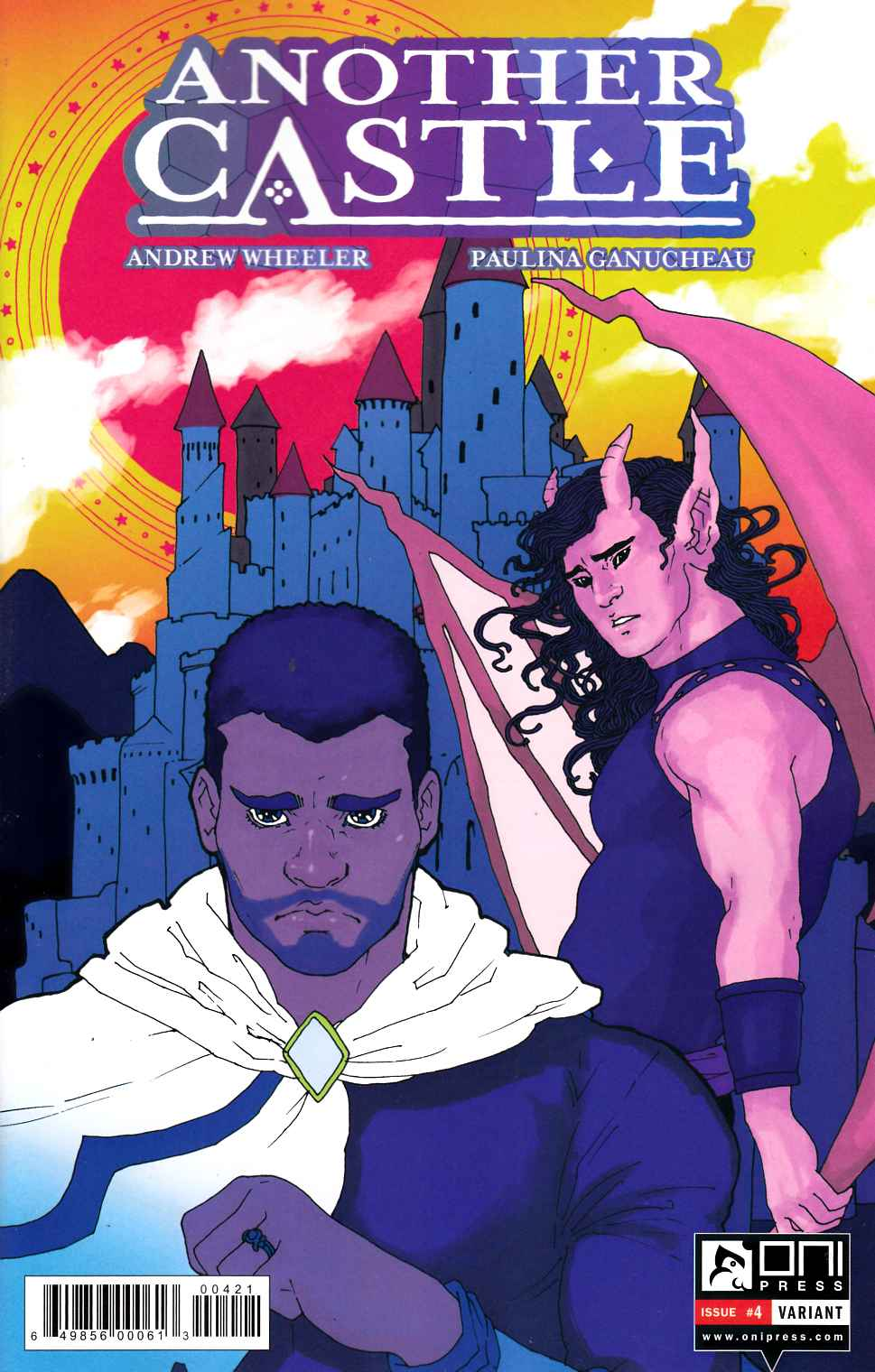Another Castle #4 Trungles Variant Cover [Oni Press Comic]