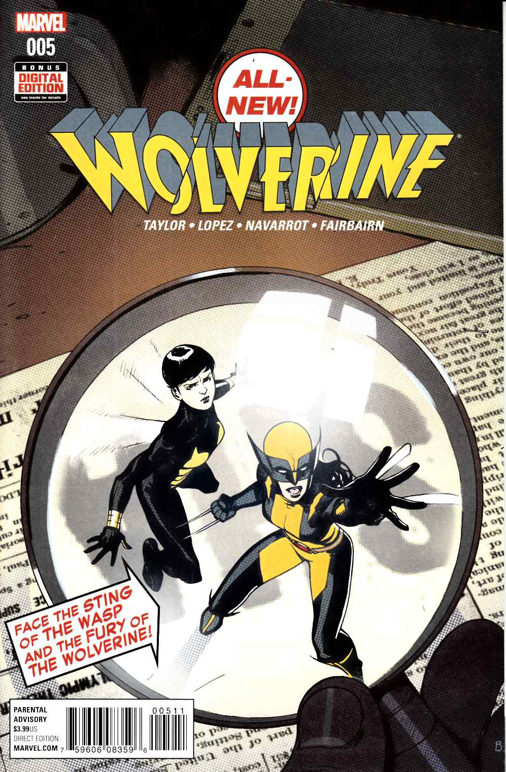 All New Wolverine #5 Very Fine (8.0) [Marvel Comic] LARGE